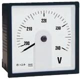 240° Skala, Amperemeter
