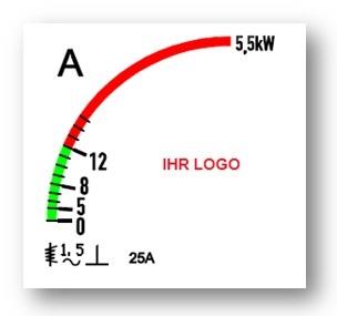 Skala in Kundenausführung, 96x96