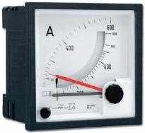 Bimetall-Strommesser, 72x72 oder 96x96