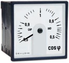 Leistungsfaktoranzeiger, 240°-Skala